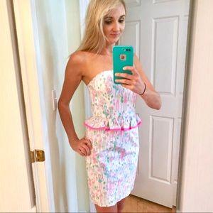 Lilly Pulitzer POP Birthday Dress   Strapless Lowe